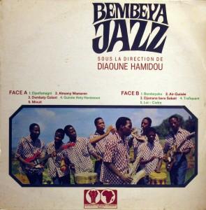 Bembeya Jazz, front