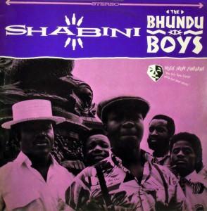 Bhundu Boys, front