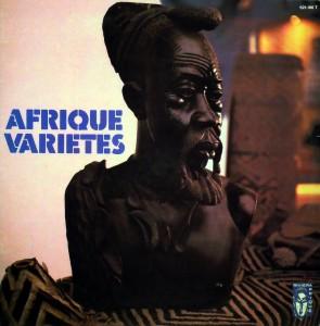Afrique Varietes, front