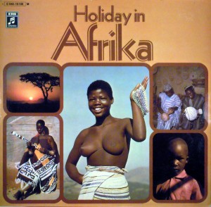 Holiday in Afrika, front