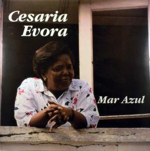 Cesaria Evora, front