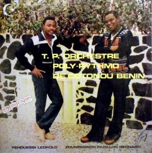 T.P. Poly Rythmo de Cotonou Benin, front