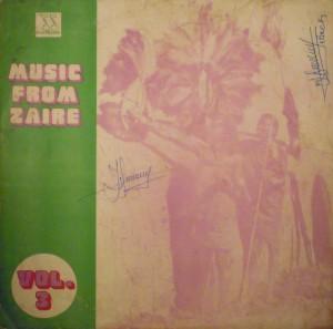 Music from Zaïre, vol.3, front