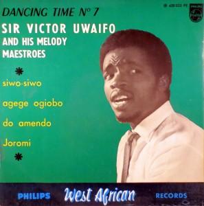 Victor Uwaifo, front