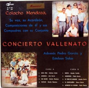 Colacho Mendoza, front