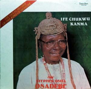 Chief Osadebe, front