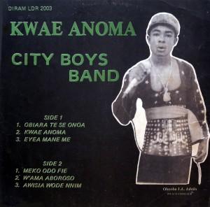 City Boys, front