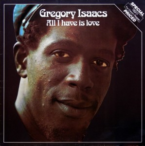 Gregory Isaacs, front