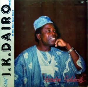 I.K. Dairo, front