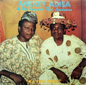 Micky Adisa, front