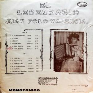 Juan Polo Valencia, back