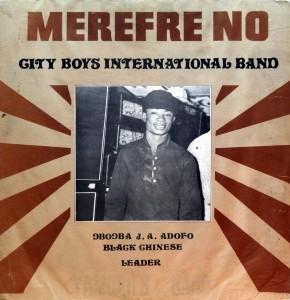 City Boys International, front