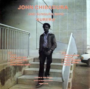 John Chibadura, back