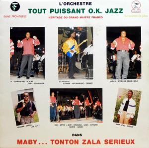 Tout Puissant OK jazz, front