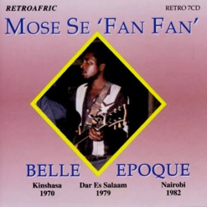Mose se 'Fan Fan', cd front