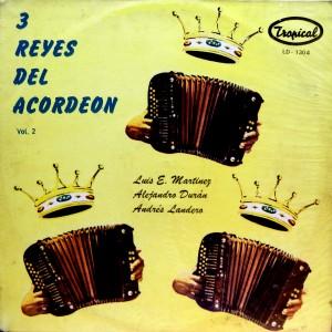 3 Reyes de Acordeon, vol. 2, front