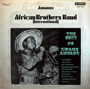 African Brothers, front