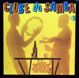 Clube do Samba, front