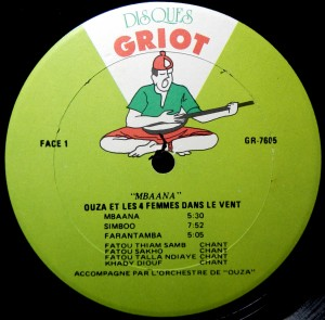 Disques Griot