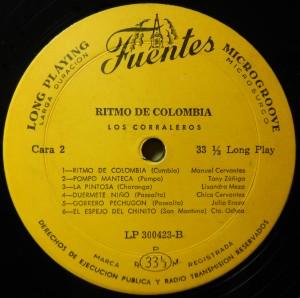 Los Corraleros, label
