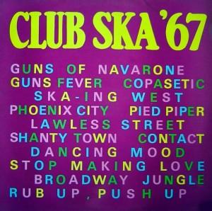 Club Ska '67, front