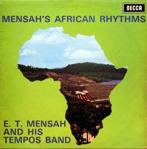 E.T. Mensah, front
