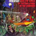 Scientist rids the world, front