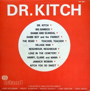Dr. Kitch, front