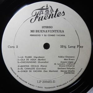 Fuentes label
