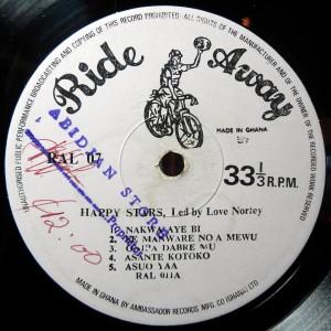 Ride Away label