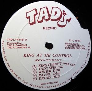 Tad's label