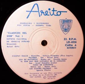 Areito label 1987