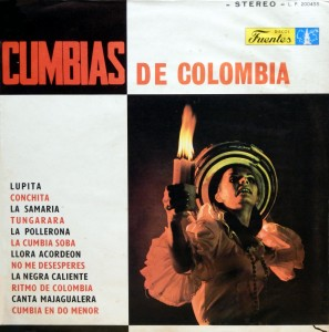 Cumbias de colombia, front
