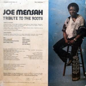 Joe Mensah, back