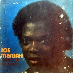 Joe Mensah, front