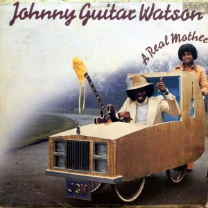 Johnny Guitar Watson, front