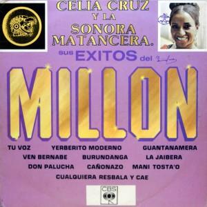 Celia Cruz, front