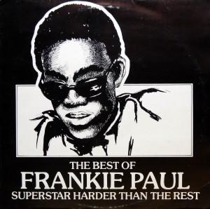Frankie Paul, front