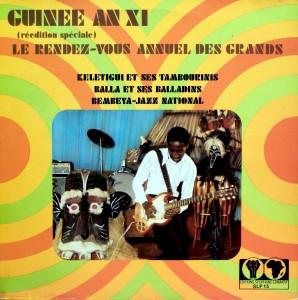 Guinée An XI, front