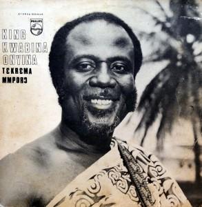 King Kwabina Onyina, front