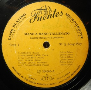 Mano a Mano Vallenato, label