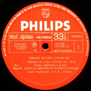 Philips West African label