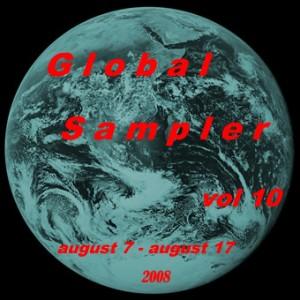 Global Sampler vol. 10, cover