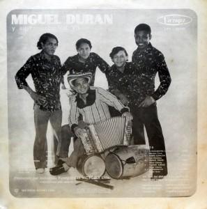 Miguel Duran, back