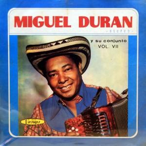 Miguel Duran, front
