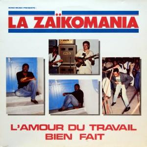 Zaïkomania, front