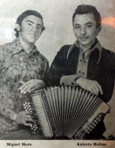 Aniceto Molina y Miguel Mora