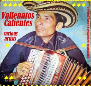 Vallenatos Calientes, front