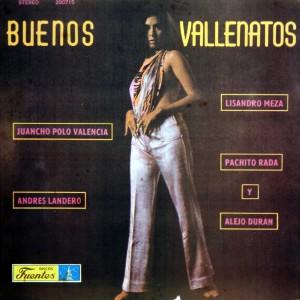 Buenos Vallenatos, front