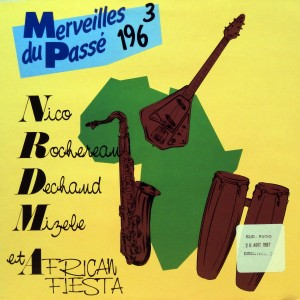 Merveilles du Passé 1963, voorkant